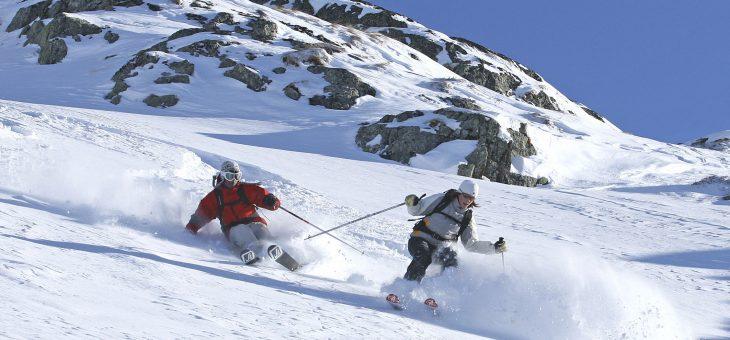 Самые привлекательные места для катания на лыжах в Альпах